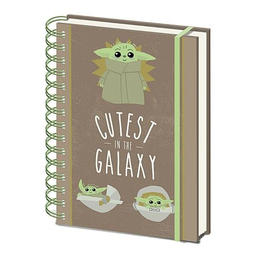 Star Wars The Mandalorian Cutest In The Galaxy A5 Wiro Notebook Note Pad
